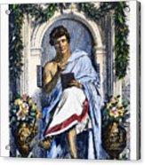 Ovid (43 B.c.-c17 A.d.) Acrylic Print