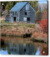 Owls Head Barn Acrylic Print