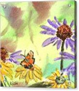 Oxbow Summer Acrylic Print