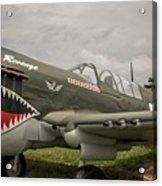 P - 40 Warhawk Acrylic Print