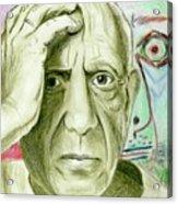 Pablo Piccaso Acrylic Print
