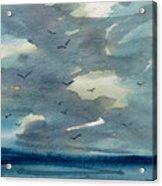 Pacific Seascape Acrylic Print