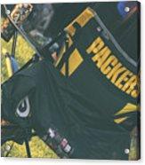 Packers Fan Acrylic Print