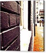Painted Bricks Acrylic Print