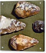 Paleolithic Tools Acrylic Print