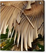 Palm Bark Acrylic Print