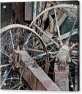 Palouse Farm Wheels 3156 Acrylic Print