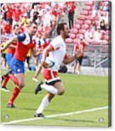 Pamam Games Men's Rugby 7's Acrylic Print