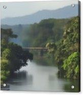 Panama014soft Acrylic Print