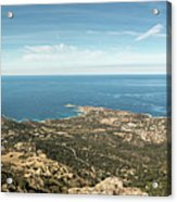 Panoramic View Across Calvi Bay And Revellata In Corsica Acrylic Print