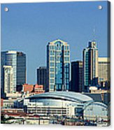 Panoramic View Of Nashville, Tennessee Acrylic Print