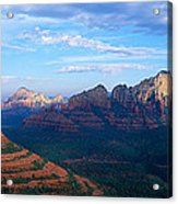 Panoramic View, Sedona, Arizona Acrylic Print