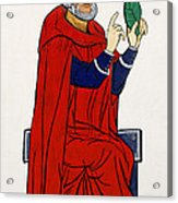 Paracelsus, Swiss Doctor And Alchemist Acrylic Print