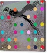 Paradise Birds Acrylic Print