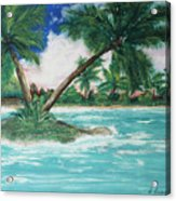 Paradise Island Acrylic Print