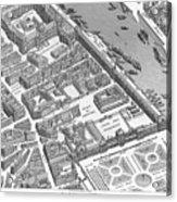 Paris 1730 Acrylic Print