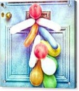 Party Balloons Acrylic Print