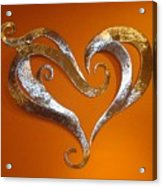 Passion Hearts Acrylic Print
