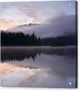 Pastel Dawn Acrylic Print