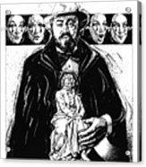Pavarotti, Fidelio, Inking Acrylic Print