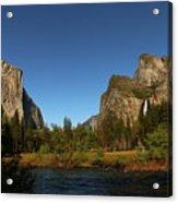 Peaceful Merced River Acrylic Print
