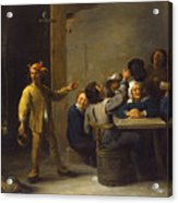 Peasants Celebrating Twelfth Night Acrylic Print