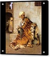 Pelt Merchant Of Cairo - 1869 Acrylic Print by Jean-Leon Gerome