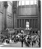 Pennsylvania Station Interior Acrylic Print