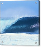Perfect Wave At Pipeline Acrylic Print