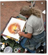 Performance Of Art Acrylic Print