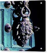 Peruvian Door Decor 6 Acrylic Print