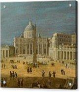 Peters Basilica Acrylic Print