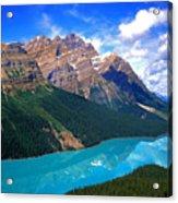 Peyto Lake, Banff National Park Acrylic Print