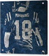 Peyton Manning Colts 2 Acrylic Print