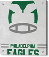 Philadelphia Eagles Vintage Art Acrylic Print