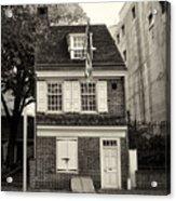 Philadelphia - The Betsy Ross House Acrylic Print