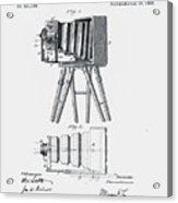 Photographic Camera Patent 1885 Acrylic Print