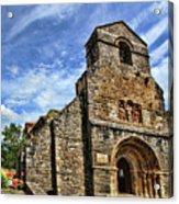 Piasca Iglesia De Santa Maria _img 8461a Acrylic Print