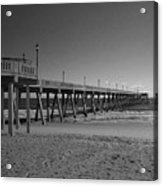 Pier Willmington Nc Acrylic Print