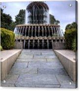 Pineapple Fountain Charleston Sc Acrylic Print
