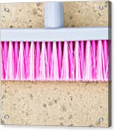 Pink Broom Acrylic Print