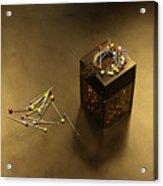 Pins Acrylic Print