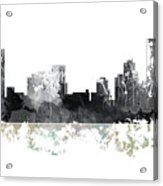 Pittsburgh Pennsylvania Skyline Acrylic Print