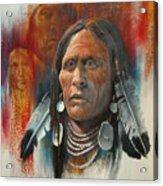 Plainsman Acrylic Print by Robert Carver