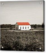 Plantation Church Acrylic Print