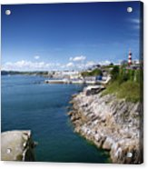 Plymouth Foreshore Acrylic Print