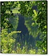 Pocket Lake Acrylic Print