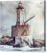 Point St. George Reef Lighthouse Acrylic Print