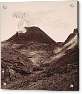 Pompeii, Mt Vesuvius Acrylic Print