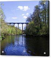 Pontcysyllte Aqueduct Acrylic Print